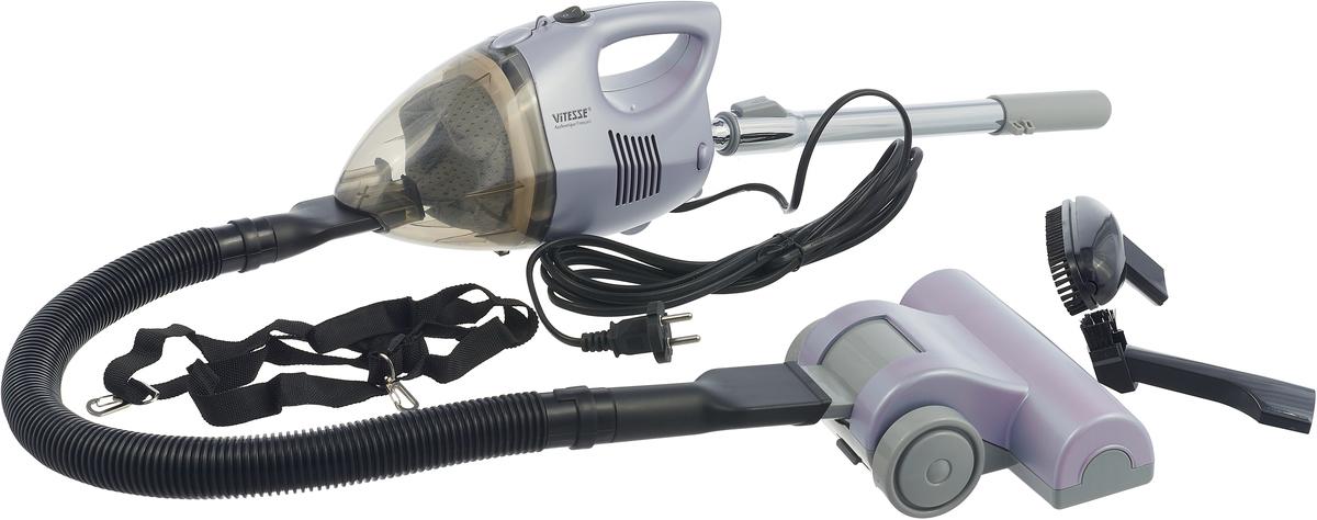 Vitesse VS-765 ручной пылесосVS-765 SilverРучной пылесос Vitesse VS-765 - секретное оружие лучших хозяек. Он поможет быстро и эффективно сделать уборку в доме и останется практически незаметным. Что-то просыпалось, любимый питомец разбросал свой корм по кухне, вот-вот нагрянут гости и срочно нужна уборка? Достать и собрать ручной пылесос Vitesse VS-765 займет у вас считанные секунды, а значит, неожиданные ситуации больше никогда не застанут вас врасплох. Пылесос работает по технологии Циклон, достойной самых крупных пылесосов: воздух внутри контейнера-пылесборника закручивается в вихрь и прижимает крупную пыль к краям, а мелкие частички пыли оседают на фильтре в центре контейнера. Воздушный HEPA-фильтр эффективно удерживает пыль, проходящую через пылесос и при этом он легко моется, а значит, вы сможете использовать его снова и снова. Различные сменные насадки, входящие в комплект пылесоса Vitesse VS-765, справятся не только с полами и коврами, но и с любыми самыми сложными поверхностямиКак выбрать пылесос. Статья OZON Гид