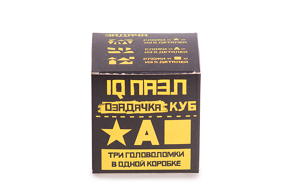 Озадачка Головоломка Тип Куб 4
