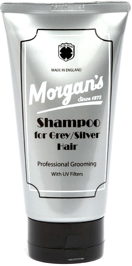Morgans Шампунь для осветленных и седых волос, 150 млM079Шампунь Morgans возвратит жизнь осветленным и седым волосам. Уникальная осветляющая формула уменьшает тусклость, оставляя ваши волосы сияющими и блестящими! Шампунь для осветленных и седых волос Morgans нейтрализует нежелательный желтый оттенок волос. Обладает приятным ароматом лаванды.