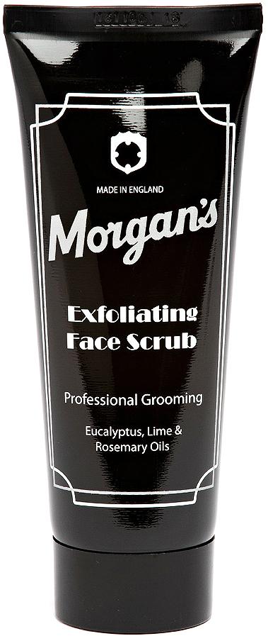 Morgans Скраб для лица, 100 млM032Отшелушит и мгновенно восстановит уставшую кожу. Отлично очистит от загрязнений, делая вашу кожу гладкой и здоровой. Не содержит синтетических частиц. Используйте 1-2 раза в неделю. Для лучшего результата используйте вместе с омолаживающим бальзамом после бритья или с ежедневным увлажняющим кремом Morgans.