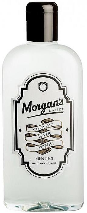 Morgans Охлаждающий тоник для волос, 250 млM098Охлаждающий тоник для волос Morgans - охлаждает кожу головы и успокаивает зуд. Приятно освежает и придает нужную текстуру волосам. В состав входят ментол, пантенол и УФ-фильтры. Обогащен экстрактами квассии, крапивы, розмарина. Применяйте тоник для волос Morgans ежедневно, перед сном. Это поможет стимулировать кожу головы, для увеличения роста волосяного фолликула.