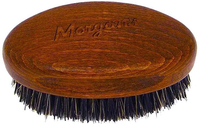 Morgans Щетка для бороды и усовM136Щетка для бороды и усов Morgans изготовлена в Италии из первоклассной щетины кабана. Щетина кабана эффективно прочесывает бороду и усы, массируя кожу. В результате такого массажа, повышается кровообращение вокруг капилляров, что благотворно сказывается на росте бороды и на здоровье волос. Щетка для бороды и усов Morgans имеет эргономичный дизайн и небольшой размер. Длина ручки составляет: 8,5 см., ширина: 5 см.