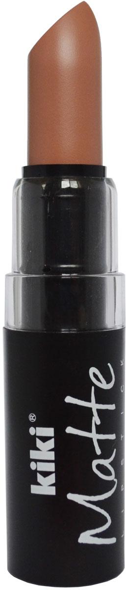 Kiki Помада для губ Matte 601, 3,8 г50030601Матовая устойчивая помада. Обладает насыщенным цветом и превосходно наносится, создавая тонкое равномерное покрытие. Абсолютно не сушит губы, дарит бархатное покрытие и матовый цвет.