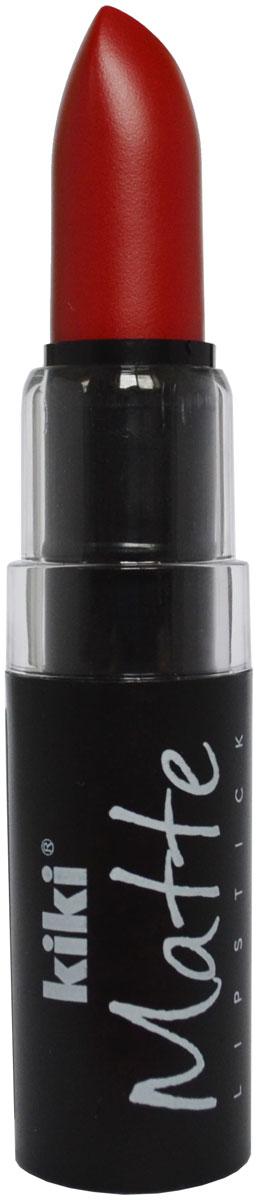 Kiki Помада для губ Matte 602, 3,8 г50030602Матовая устойчивая помада. Обладает насыщенным цветом и превосходно наносится, создавая тонкое равномерное покрытие. Абсолютно не сушит губы, дарит бархатное покрытие и матовый цвет.