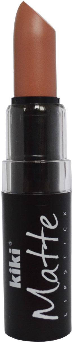 Kiki Помада для губ Matte 603, 3,8 г50030603Матовая устойчивая помада. Обладает насыщенным цветом и превосходно наносится, создавая тонкое равномерное покрытие. Абсолютно не сушит губы, дарит бархатное покрытие и матовый цвет.
