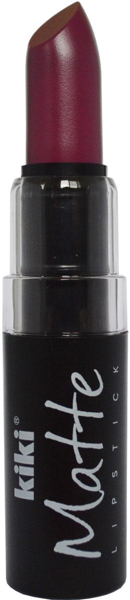 Kiki Помада для губ Matte 607, 3,8 г50030607Матовая устойчивая помада. Обладает насыщенным цветом и превосходно наносится, создавая тонкое равномерное покрытие. Абсолютно не сушит губы, дарит бархатное покрытие и матовый цвет.