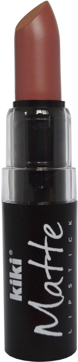 Kiki Помада для губ Matte 609, 3,8 г50030609Матовая устойчивая помада. Обладает насыщенным цветом и превосходно наносится, создавая тонкое равномерное покрытие. Абсолютно не сушит губы, дарит бархатное покрытие и матовый цвет.