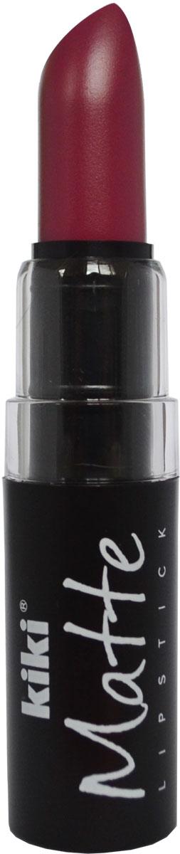 Kiki Помада для губ Matte 610, 3,8 г50030610Матовая устойчивая помада. Обладает насыщенным цветом и превосходно наносится, создавая тонкое равномерное покрытие. Абсолютно не сушит губы, дарит бархатное покрытие и матовый цвет.