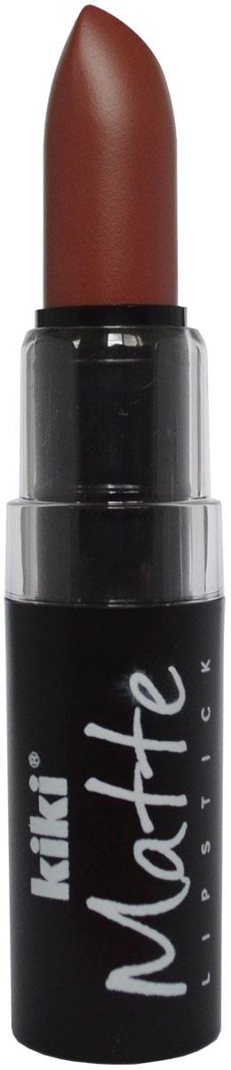 Kiki Помада для губ Matte 613, 3,8 г50030613Матовая устойчивая помада. Обладает насыщенным цветом и превосходно наносится, создавая тонкое равномерное покрытие. Абсолютно не сушит губы, дарит бархатное покрытие и матовый цвет.