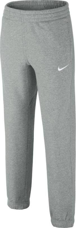 Брюки спортивные для мальчика Nike Fleece Cuffed, цвет: серый. 619089-063. Размер XL (158/170) solid cuffed pants