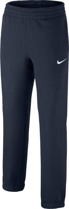 Брюки спортивные для мальчика Nike Fleece Cuffed, цвет: синий. 619089-451. Размер XL (158/170) solid cuffed pants