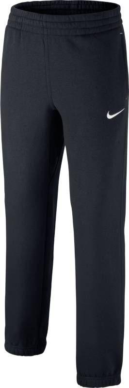 Брюки спортивные для мальчика Nike Fleece Cuffed, цвет: черный. 619089-010. Размер XL (158/170) solid cuffed pants