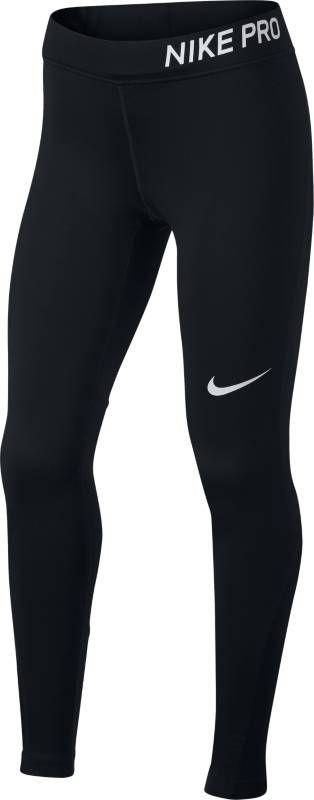 Леггинсы для девочки Nike Pro, цвет: черный. 890228-010. Размер L (146/158) клюшка для гольфа nike vapor pro 2015