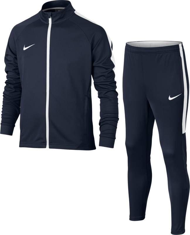 Спортивный костюм для мальчика Nike Dry Academy, цвет: синий, белый. 844714-451. Размер XL (158/170) костюм спортивный nike dry academy 18 football tracksuit 893709 657 красн черн