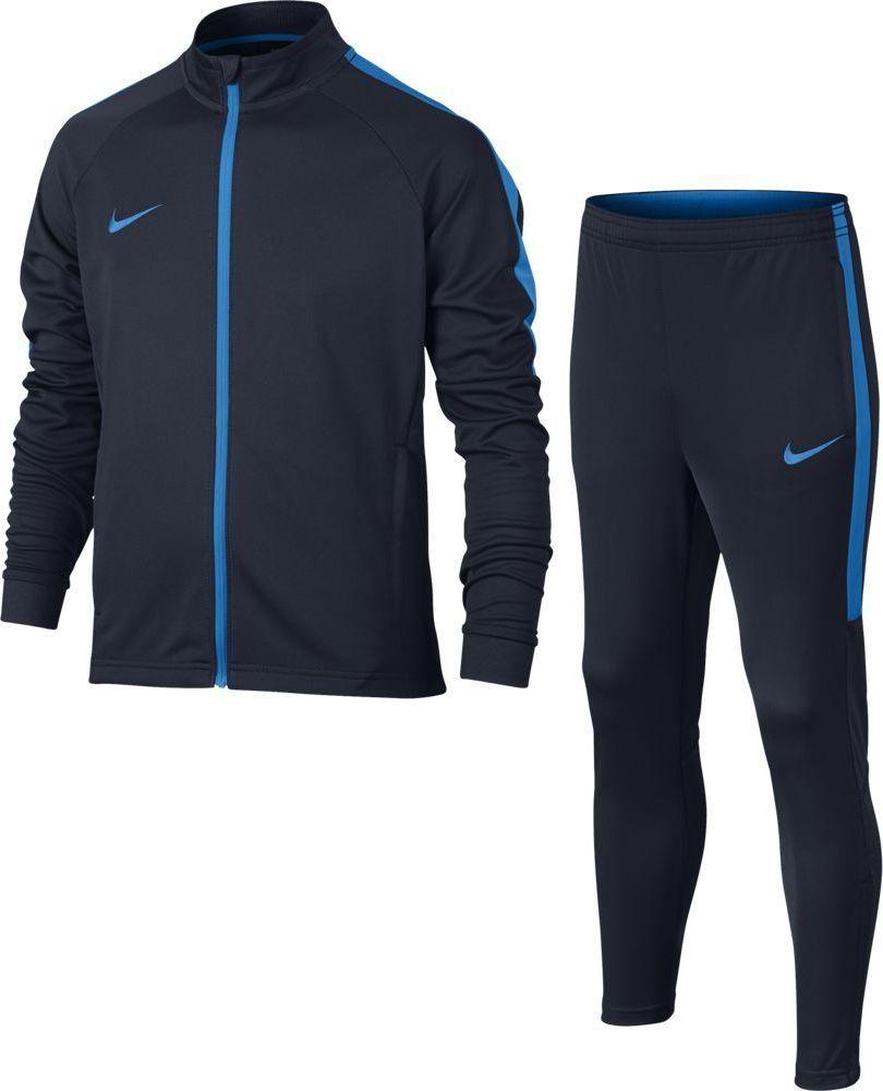 Спортивный костюм для мальчика Nike Dry Academy, цвет: синий. 844714-454. Размер L (146/158) костюм спортивный nike dry academy 18 football tracksuit 893709 657 красн черн