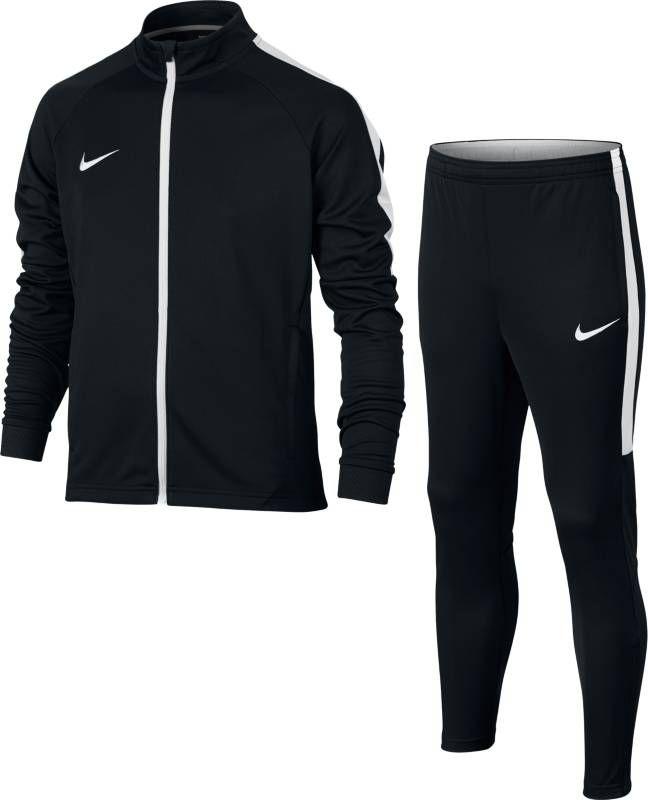 Спортивный костюм для мальчика Nike Dry Academy, цвет: черный, белый. 844714-011. Размер XL (158/170) carmina campus сумка на руку