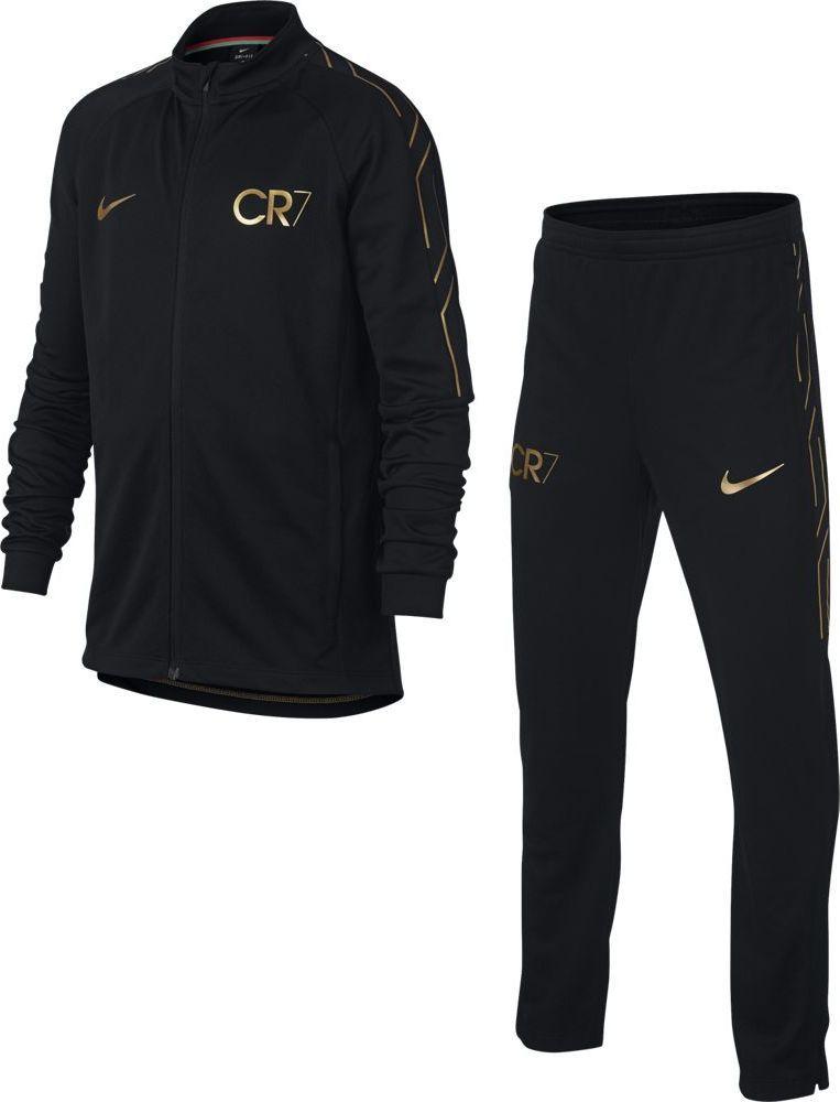 Спортивный костюм для мальчика Nike Dry Academy, цвет: черный. 894878-010. Размер XL (158/170) костюм спортивный nike dry academy 18 football tracksuit 893709 657 красн черн
