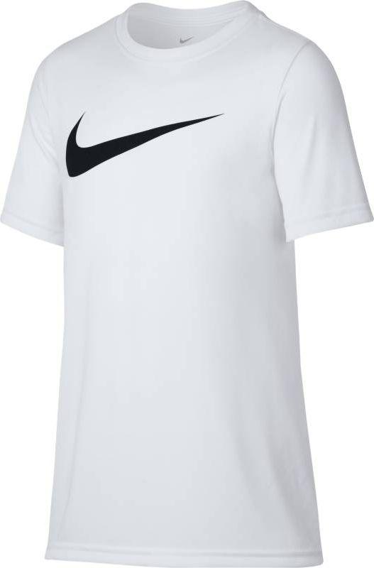 Футболка для мальчика Nike Dry, цвет: белый. 819838-100. Размер XL (158/170)