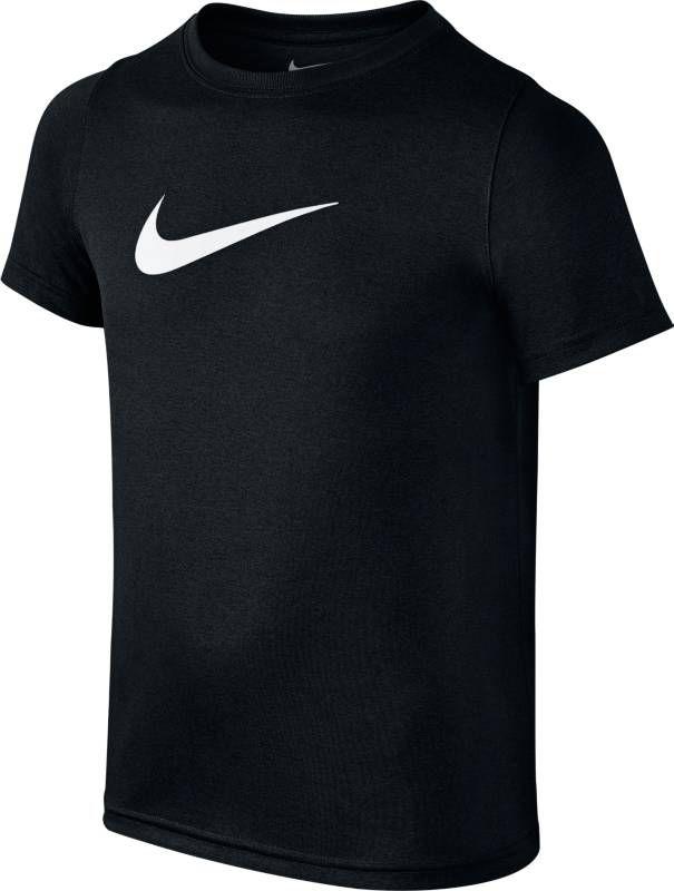 Футболка для мальчика Nike Dry, цвет: черный. 819838-010. Размер XL (158/170) шапки и кепки для туризма и кемпинга nike 666412 584169 410 010 688767 043 100 060