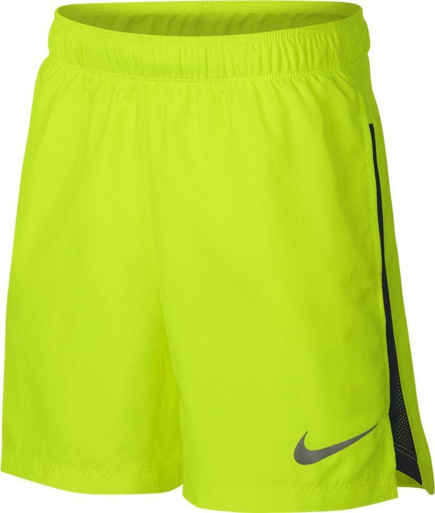 Шорты для мальчика Nike Dry, цвет: желтый. 923842-702. Размер XL (158/170)