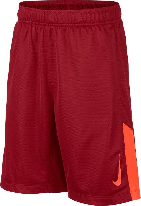 Шорты для мальчика Nike Dry, цвет: красный. 892496-687. Размер XL (158/170)