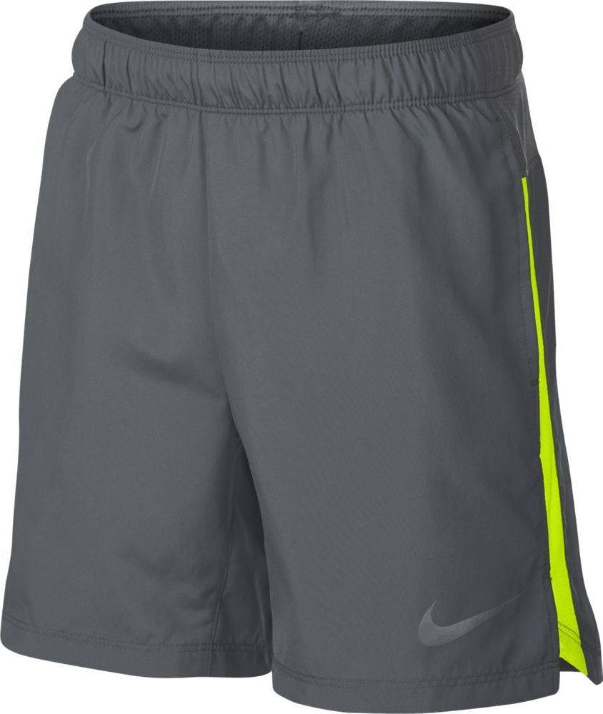 Шорты для мальчика Nike Dry, цвет: серый. 923842-065. Размер XL (158/170)