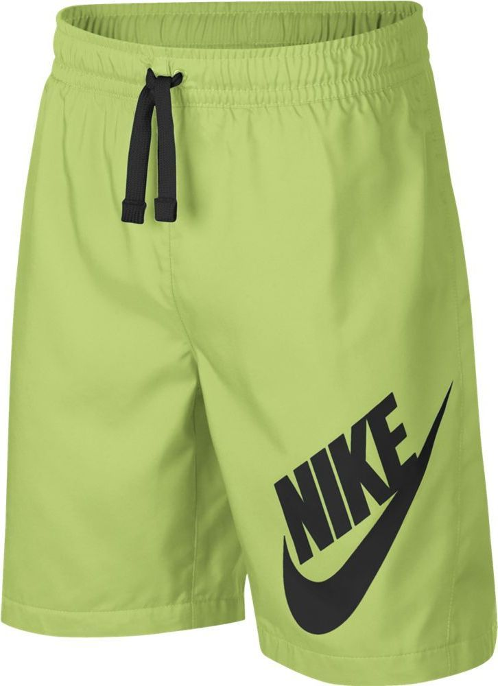 Шорты для мальчика Nike Sportswear, цвет: желтый. 923360-716. Размер L (146/158) шорты viaggio bambini для мальчика цвет желтый