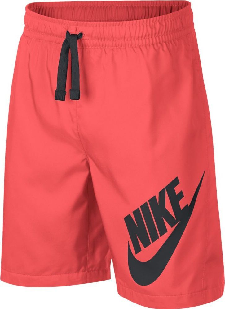 Шорты для мальчика Nike Sportswear, цвет: коралловый. 923360-667. Размер XL (158/170) 4pcs set car interior accessories side door molding trim for land rover range rover sport 2014 2015 2016 2017 styling abs chrome