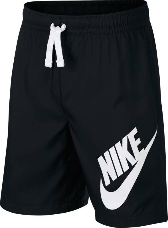 Шорты для мальчика Nike Sportswear, цвет: черный. 923360-011. Размер XL (158/170)