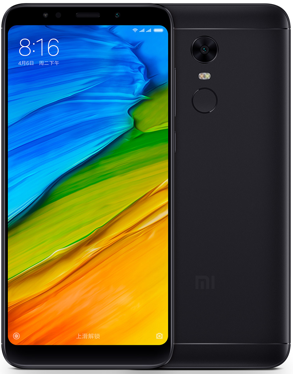 Xiaomi Redmi 5 Plus (32GB), Black