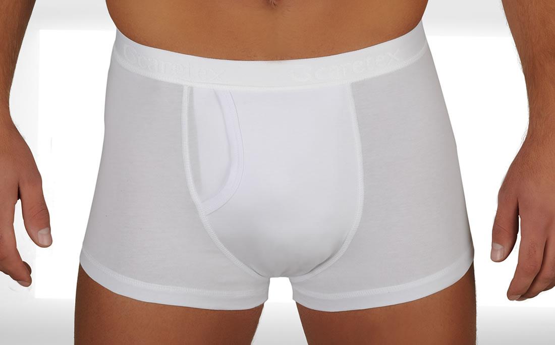 Caretex Многоразовые непромокаемые трусы для мужчин Boxer, высокая степень защиты, размер 36-55 мужское нижнее белье
