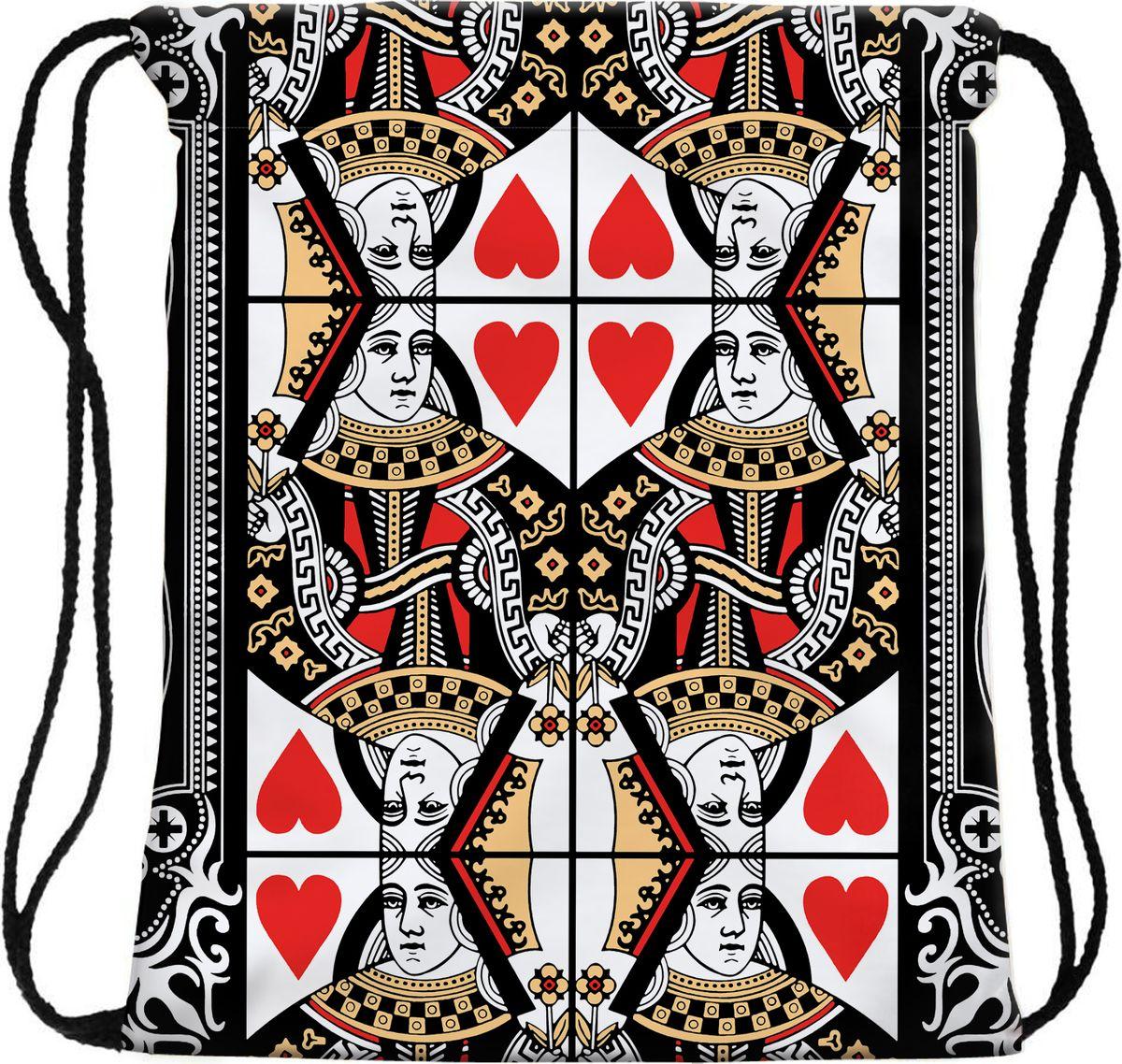 Homsu Сумка для сменной обуви Card game