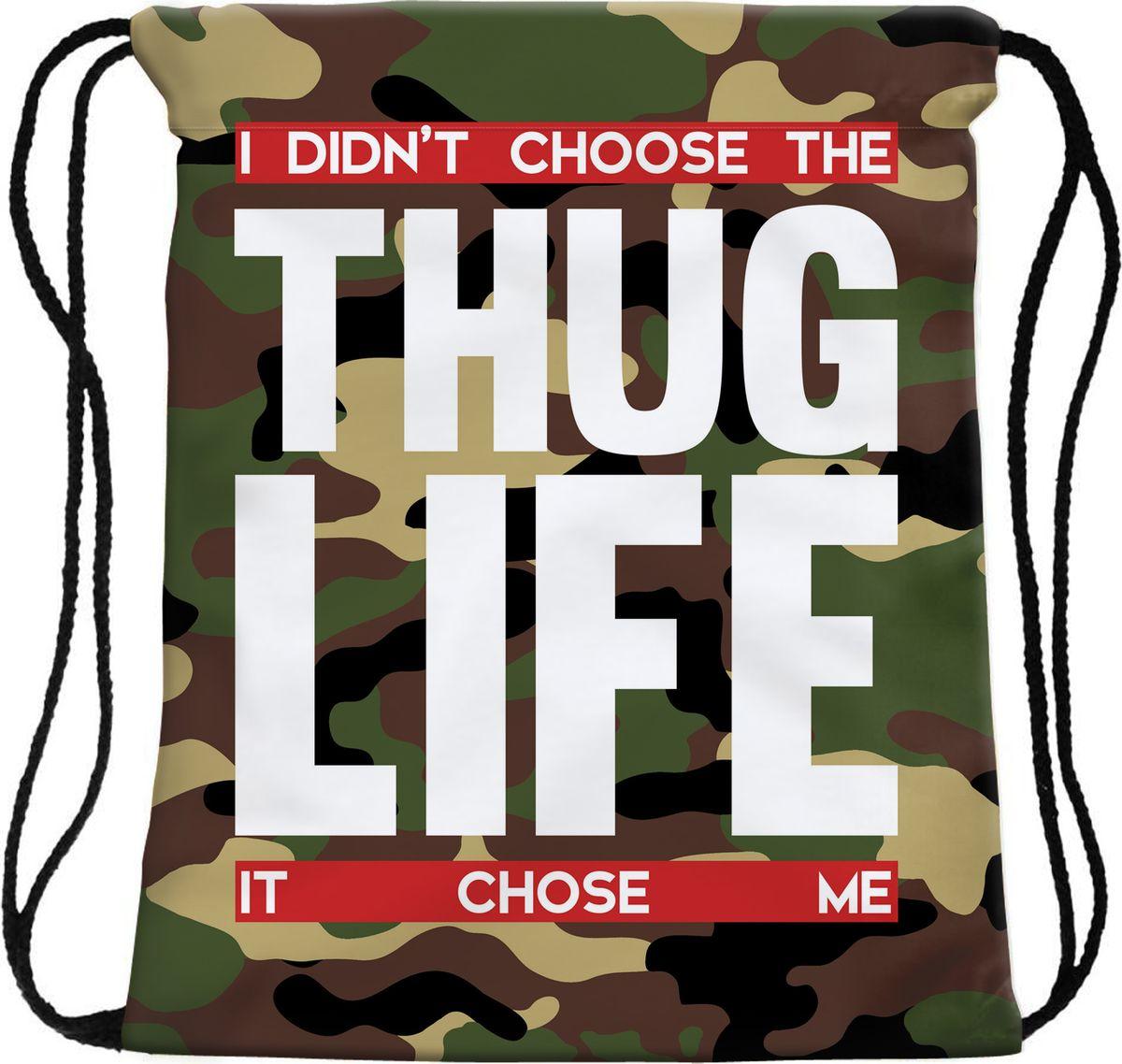 Homsu Сумка для сменной обуви Thug Life