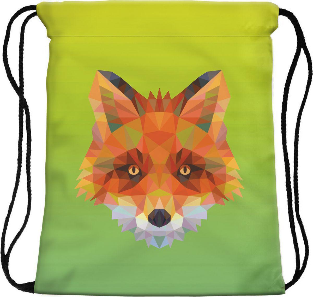 Homsu Сумка для сменной обуви Geometric fox