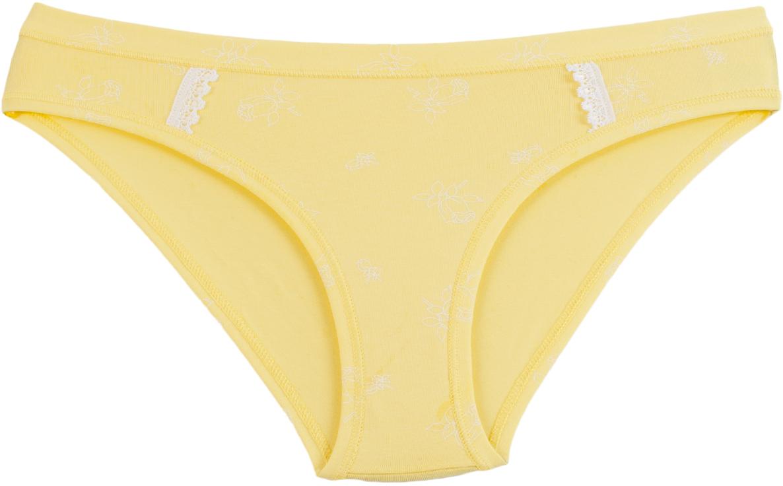 Трусы женские Rossoporpora Slip, цвет: желтый. D1536. Размер S (44) трусы diwari трусы slip