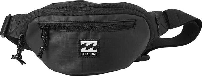 Сумка поясная Billabong Java Waistpack, цвет: черный, 1,75 л