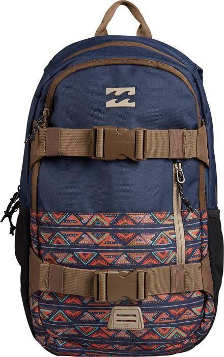 Рюкзак Billabong Command Skate Pack, цвет: синий, хаки, 27 лH5BP01Очень удобный и универсальный рюкзак от Billabong, который обладает достаточным объем для хранения Вашего ноутбука и всех необходимых вещей. В добавок у него есть внешние крепления для скейтборда. На прогулку, в небольшое путешествие или просто поездка на любимый спот, Billabong Command станет Вашим верным спутником в любом из случаев. Особенности: Рюкзак для катания Просторное основное отделениеМягкое отделение для ноутбукаКрепления для скейтборда Карман органайзерБоковые карманыРегулируемые плечевые лямкиПлотная спинкаУдобная петля для переноскиОбъем: 27 л.