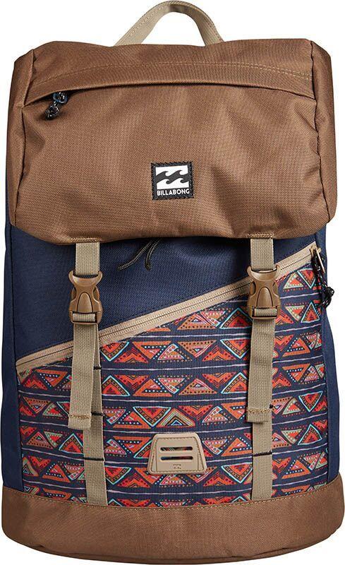 Рюкзак Billabong Track Pack, цвет: синий, хаки, 27 л