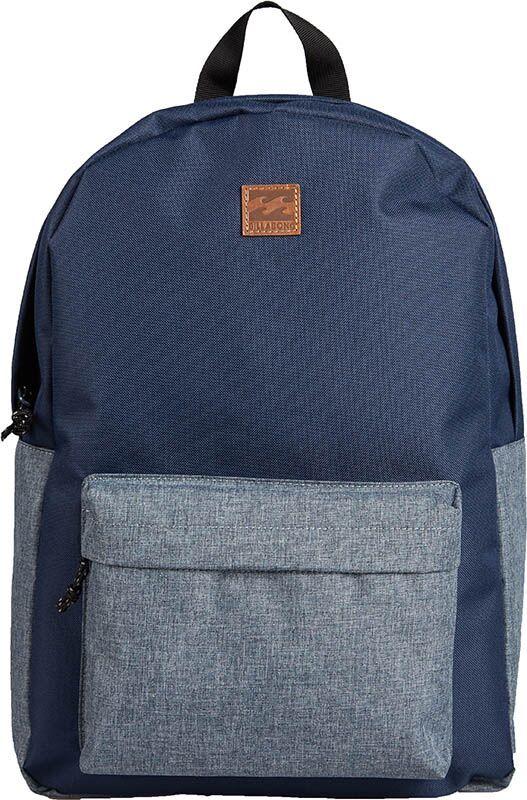 Рюкзак Billabong All Day Pack, цвет: черный, серый, 20 л