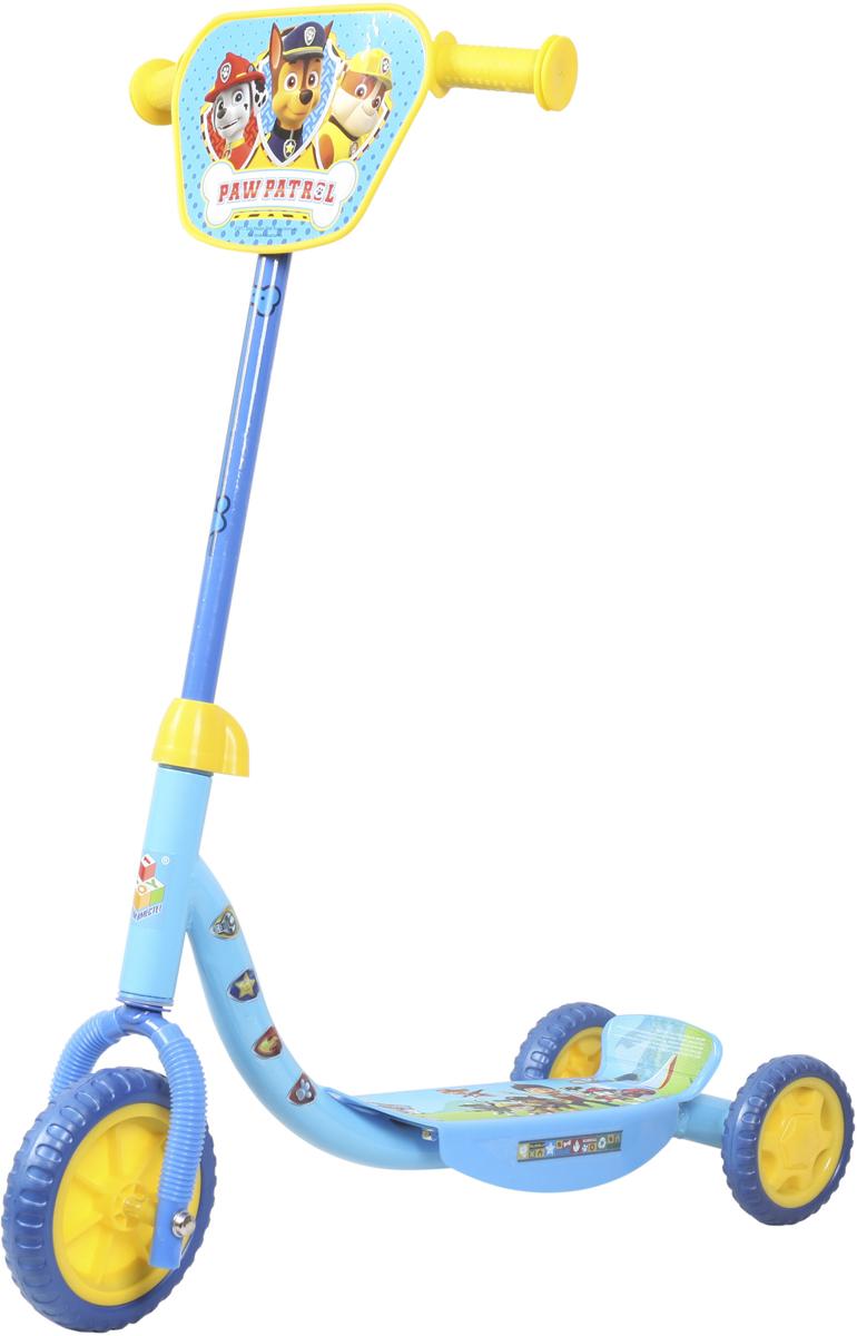 Самокат 1 Toy Щенячий патруль, 3-колесный. Т10000Т10000Самокат 1TOY Щенячий патруль c забавными персонажами из известногомультфильма.Особенности:Диаметр переднего/заднего колеса: 6/4 Размер самоката: 60 х 11 х 73 см Масса самоката: 2,1 кг Максимальная нагрузка: 20 кг Для детей от 3 лет Материал: сталь Материал колес: EVA (вспененная резина) Декоративная панель.