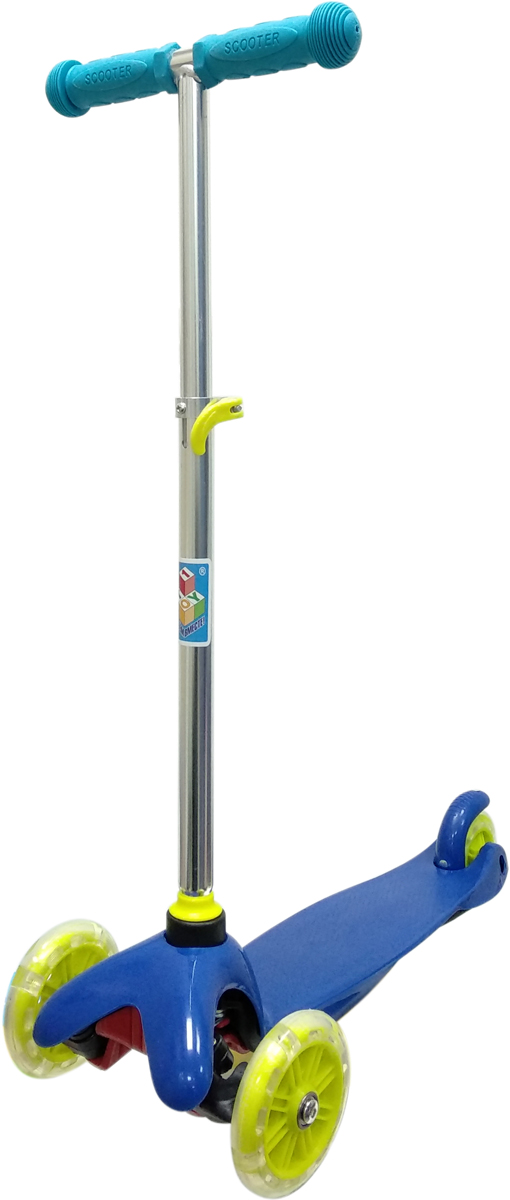 Самокат 1 Toy, 3-колесный. Т11415Т11415Самокат трёхколёсный 1TOY подходит для детей от 3 до 8 лет. Платформа,рама выполнены из прочного материала нейлон, руль самоката выполнен излёгкого алюминиевого сплава. Регулируемый руль (до 62 см), имеет триуровня фиксации. Диаметр передних колес 125 мм, заднего 100 мм.Платформа для ног с не скользящим покрытием и яркой наклейкой, ширинаплатформы 11 см. Максимальная нагрузка на Самокат трёхколёсный 1TOY30 кг.Изображения товара, включая цвет, могут немного отличаться от реальноговнешнего вида. Комплектация также может быть изменена производителембез предварительного уведомления. Описание не является публичнойофертой. Убедительно просим вас при выборе модели проверять наличиежелаемых функций и характеристик.Материал: алюминий/нейлон Размер самоката (см): 54 х 11 х 72(62) Масса самоката (кг): 1,8 Индивидуальная цветная упаковка Материал колес: PVC Ручки: резина Колеса: передние со светом Тормоз.