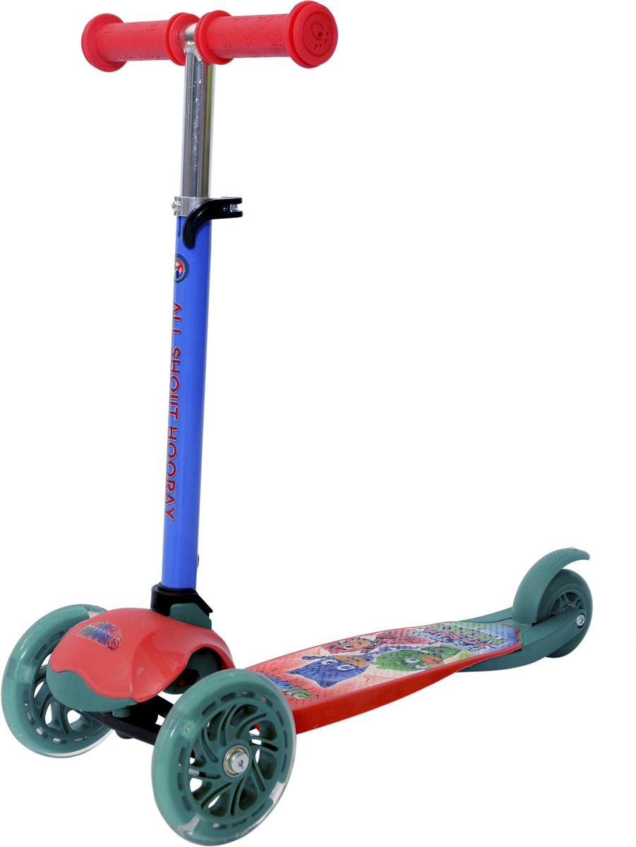 Самокат 1 Toy PJ MASKS , 3-колесный. Т11425, 1TOY, Самокаты  - купить со скидкой