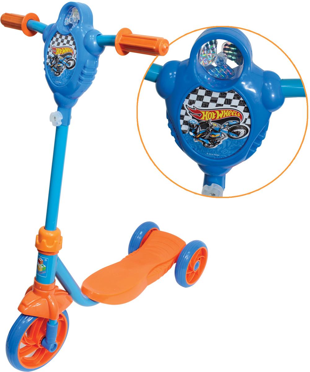 Самокат 1 Toy Hot Wheels, 2-колесный. Т57587 трехколесный самокат hot wheels next