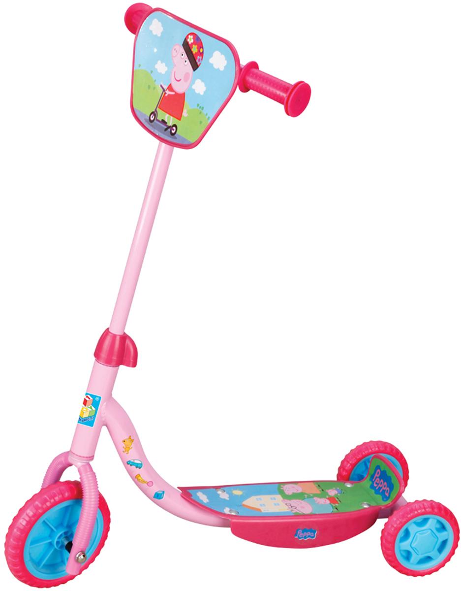 1TOY Самокат детский трехколесный Peppa