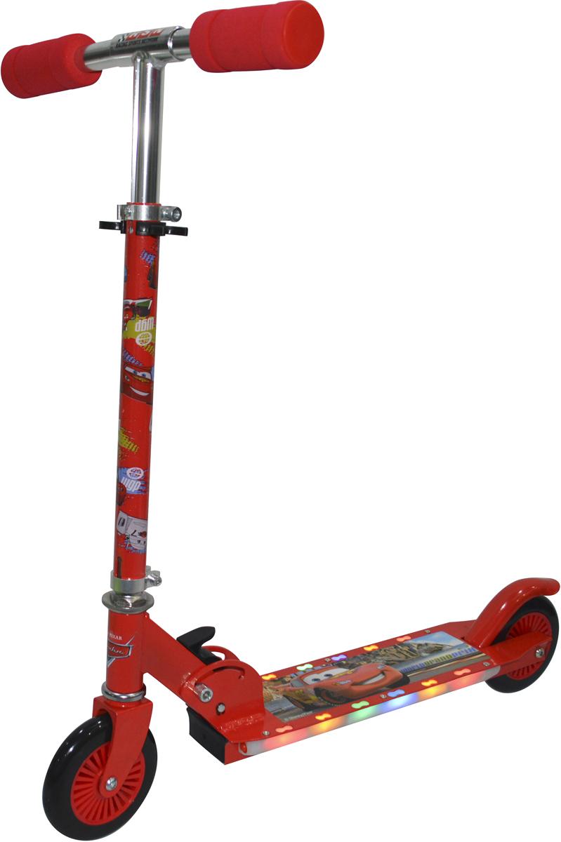 """Самокат 1 Toy """"Disney. Тачки"""", 2-колесный. Т58405, 1TOY"""
