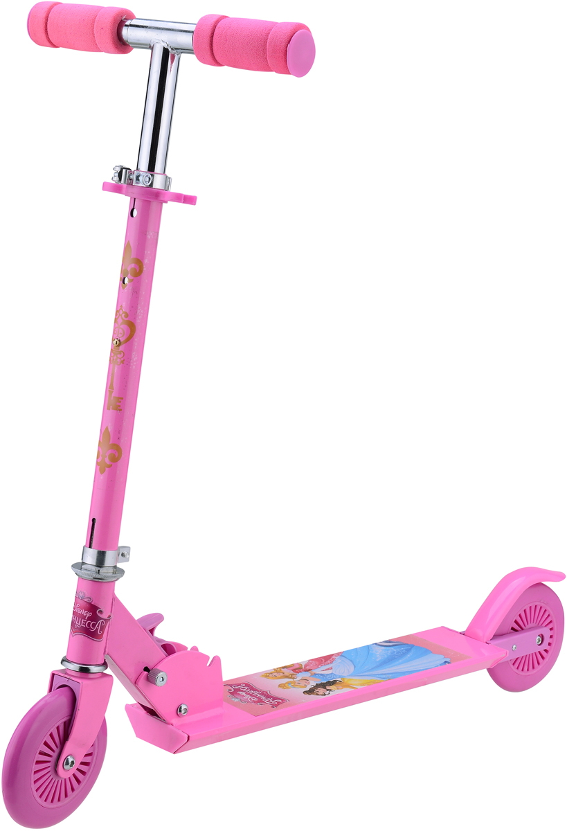 Самокат 1 Toy Disney. Принцесса, 2-колесный. Т58408 disney принцессы самокат disney принцессы двухколесный