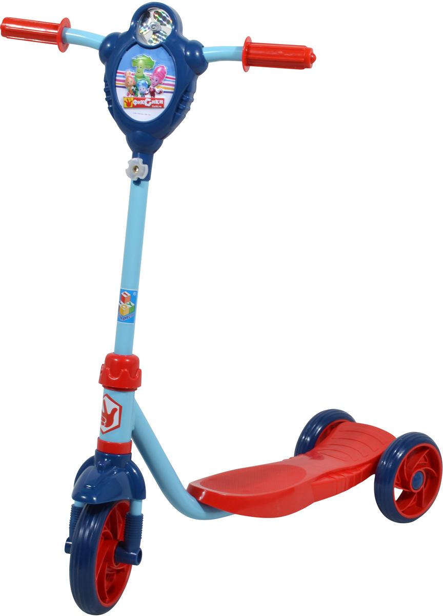 Самокат 1 Toy Фиксики, 3-колесный. Т58419 samsonite чемодан 4 х колесный pro dlx 5