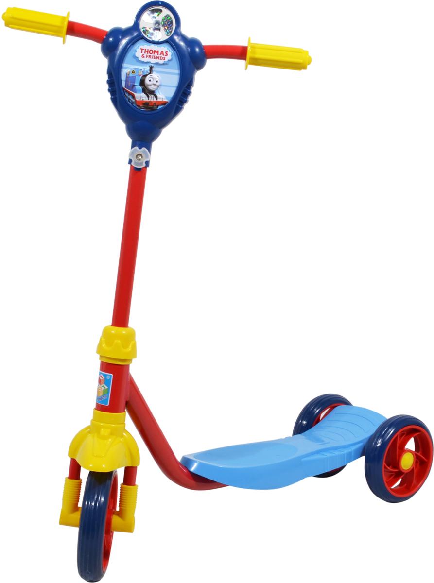 Самокат 1 Toy Томас, 2-колесный. Т58420 ледянка 1toy томас и его друзья цвет голубой диаметр 52 см