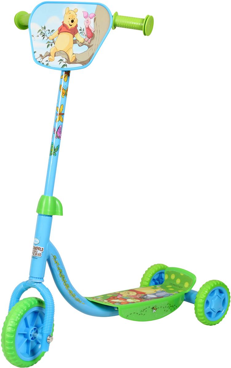 Disney Самокат детский трехколесный Винни-Пух окт кресло в ваннуокт disney винни пух нескольз желтый
