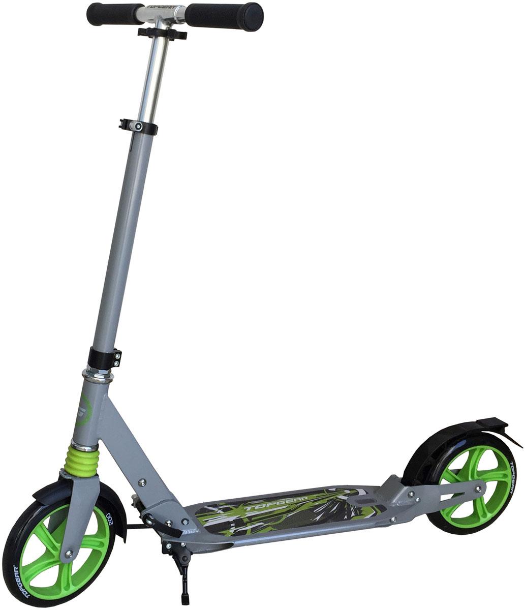 Самокат 1 Toy TopGear, 3-колесный. Т58460Т58460Самокат двухколесный Top Gear с максимальной нагрузкой до 100 кг прекрасно подойдет как для детей, так и для взрослых Диаметр переднего/заднего колеса: 200 мм Штук в коробке: 4 Материал: алюминий Размер самоката (см): 94х13,5х107 Масса самоката (кг): 5,2 Индивидуальная цветная упаковка Материал колес: полиуретан Передний амортизатор Задний амортизатор Ремень Подножка Тормоз